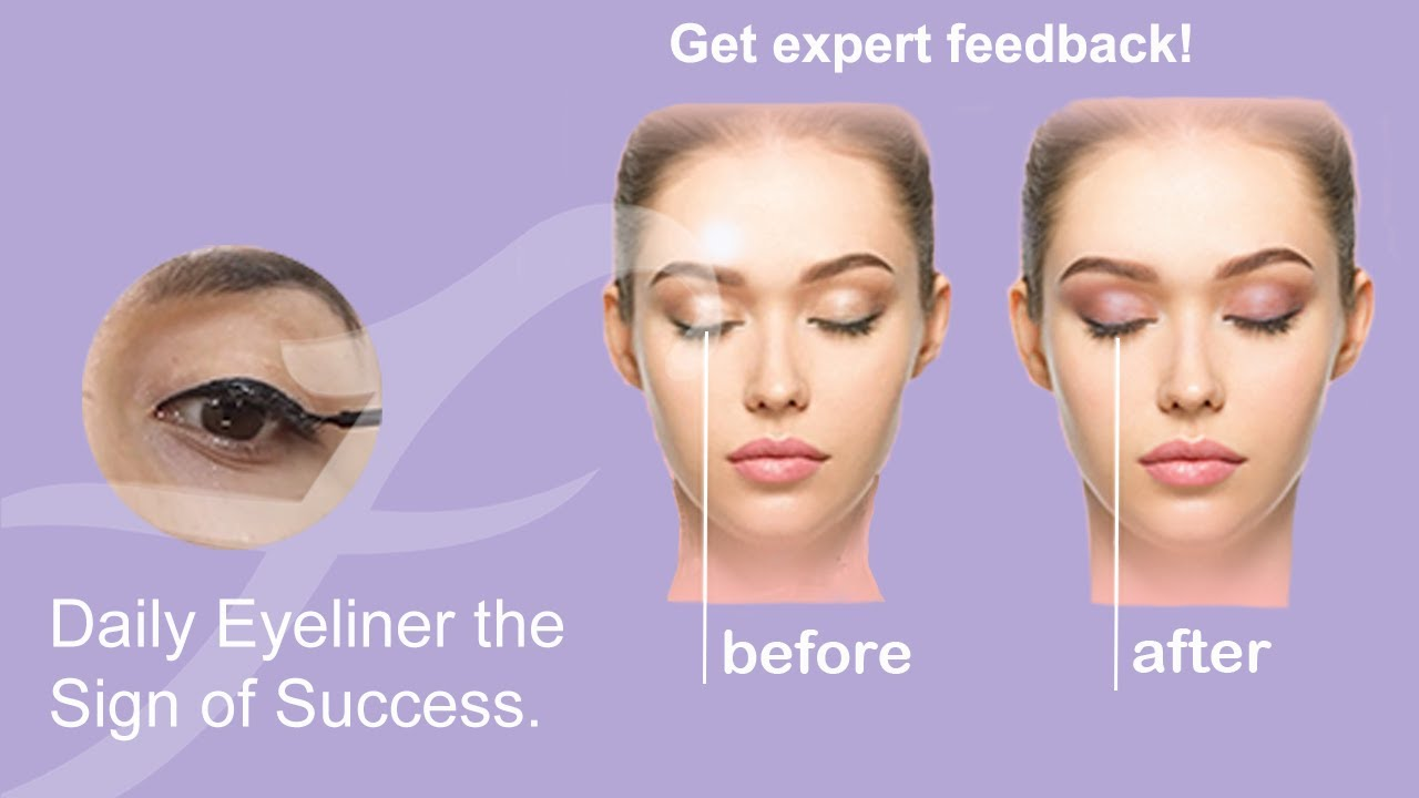 Everyday Eyeliner Tutorial for Defined Eyes   Medium Skin tone