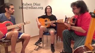 Het maken van melodieën op de Grote toets 3 (F#) Leren Paco de Lucias stijl / Ruben Diaz flamenco lessen