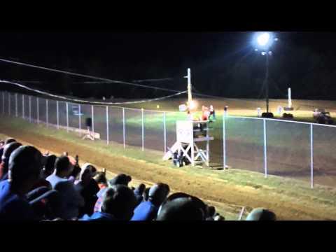 Darrell Lanigan Qualifying at North Alabama Speedway 2012 WoO Race