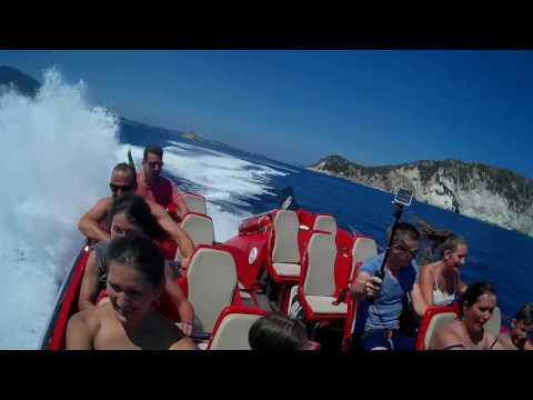 dare devil jet boat ride, laganas, zante / zakynthos , greece trip