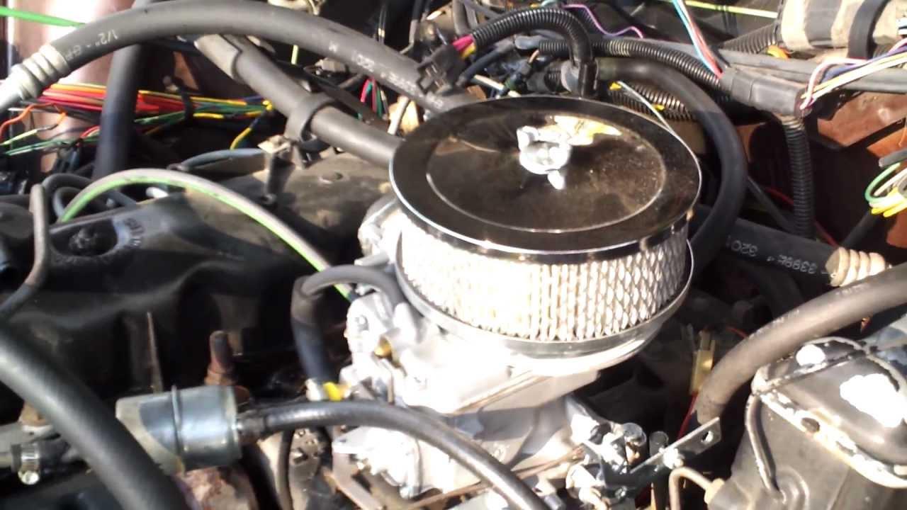 Motorcraft 2150  Vacuum Lines  YouTube