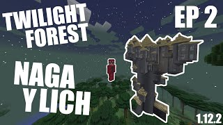 MATAR a NAGA y LICH en TWILIGHT FOREST /EP 2/