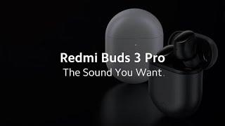 Redmi Buds 3 Pro: Design