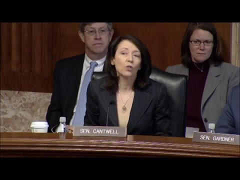 Sen. Cantwell's Opening Statement on U.S. Territories and Affiliated Islands