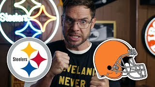 Dad Reacts to Steelers vs Browns (and Myles Garrett Fight)