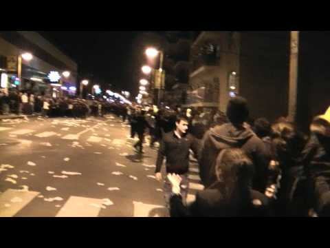 PENN STATE UNIVERSITY RIOT - THE BEGINNING