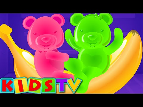 Five Little Bears Jumping On The Bed | Baby Nursery Rhymes | Children Rhymes | Kids Tv Song