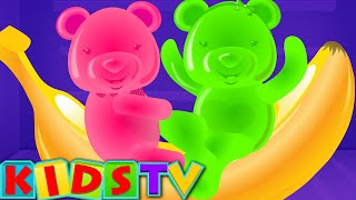 Five Little Bears Jumping On The Bed | Nursery Rhyme And Kids Songs | Kids TV