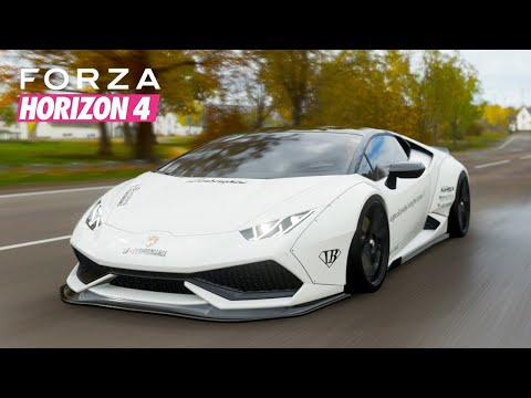 Forza Horizon 4 Lamborghini High Speed Gameplay | Underground Studio
