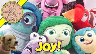 Disney Pixar Inside Out Talking Plush Dolls, The Emotion Challenge!