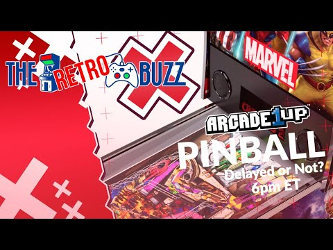Arcade1Up Pinball - The Retro Buzz Ep 42 from COOLTOY