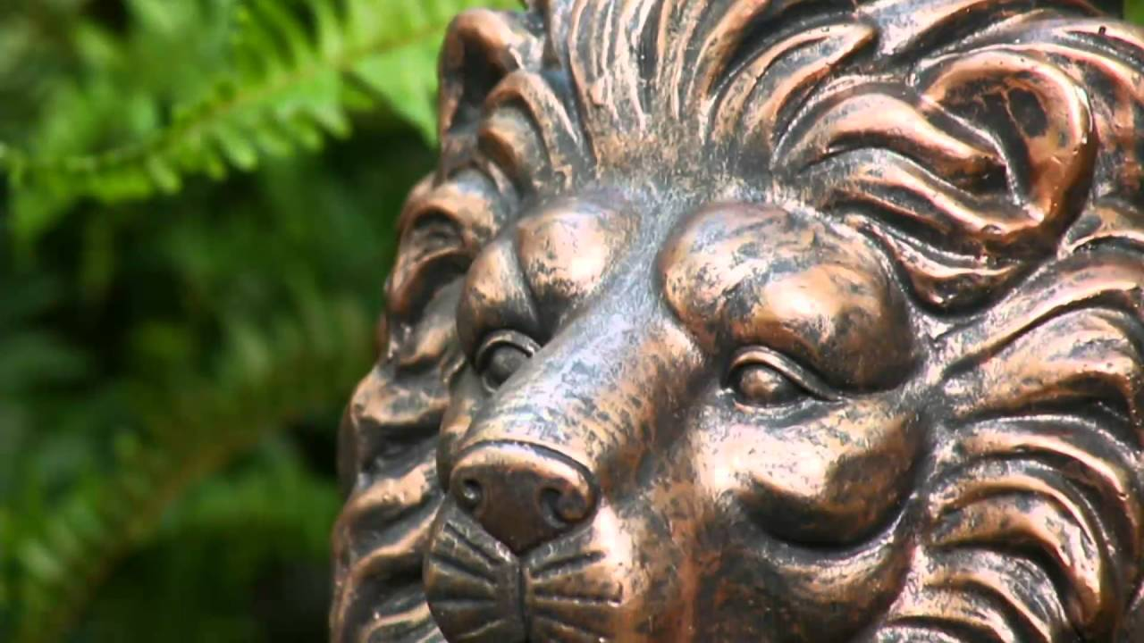 Solar Garden Lion Statue On QVC
