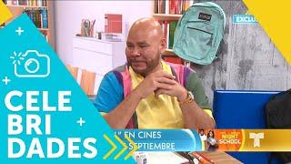 """¡Nos visitan los protagonistas del film """"Night School""""!   Un Nuevo Día   Telemundo"""