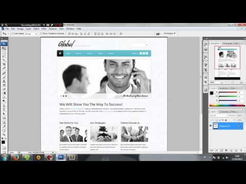 Tutorials Website Template HTML+CSS