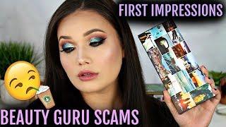 Beauty Guru Scams + First Impressions   Urban Decay Born To Run Eye Shadow Palette