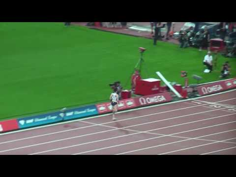 Thumbnail: Laura Muir 3:57.49 new GB record in the 1500m, London 2016