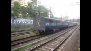 Indian Railways..Overtakes & Crossings shot from EMU