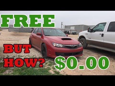 How To Get A FREE CAR! IMPOSSIBRU Flooded STI UPDATE