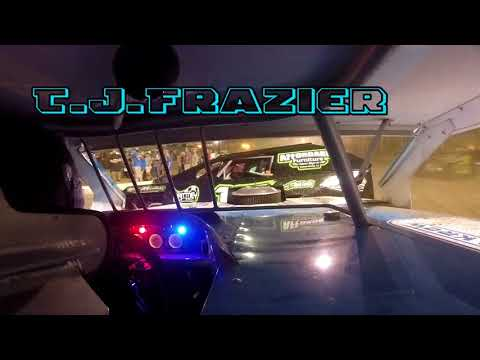 In Car Cam of T.J.Frazier at Belle-Clair Speedway 6-15-18