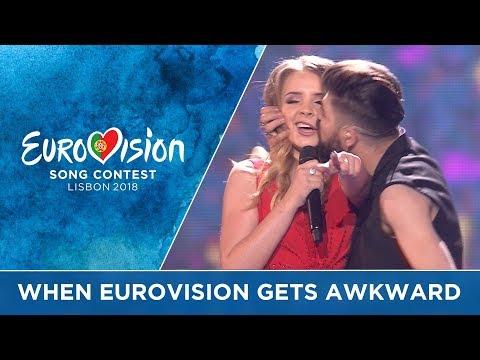 When Eurovision gets AWKWARD!!