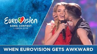 When Eurovision gets AWKWARD!!