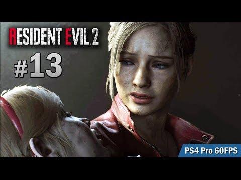 #13 下水道 Sherry 救援行動   Biohazard RE:2  (Resident Evil 2 remake) PS4 Pro 60 FPS