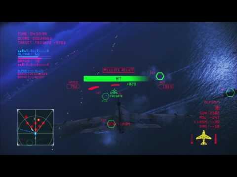 Ace Combat Infinity | Lv.19 A-6E | Lv.5 LASM | NTDM (Erusian Cup)