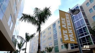 FIU Honors College Housing Tour at Parkview