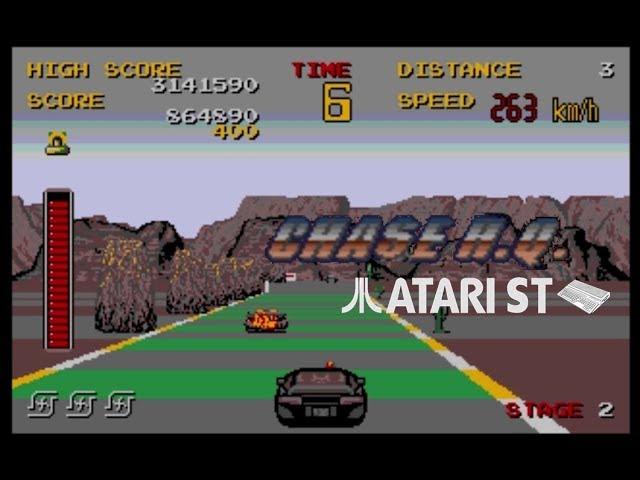 Chase H.Q. - Atari ST (1989)