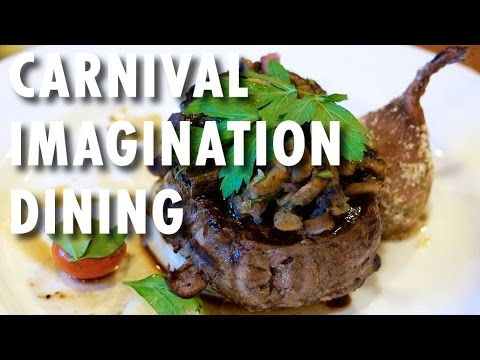 Carnival Imagination Tour & Review: Dining ~ Carnival Cruise Line ~ Cruise Ship Tour & Review