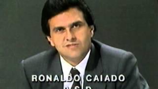 Brizola enfrenta Caiado e o chama de filhote da ditadura