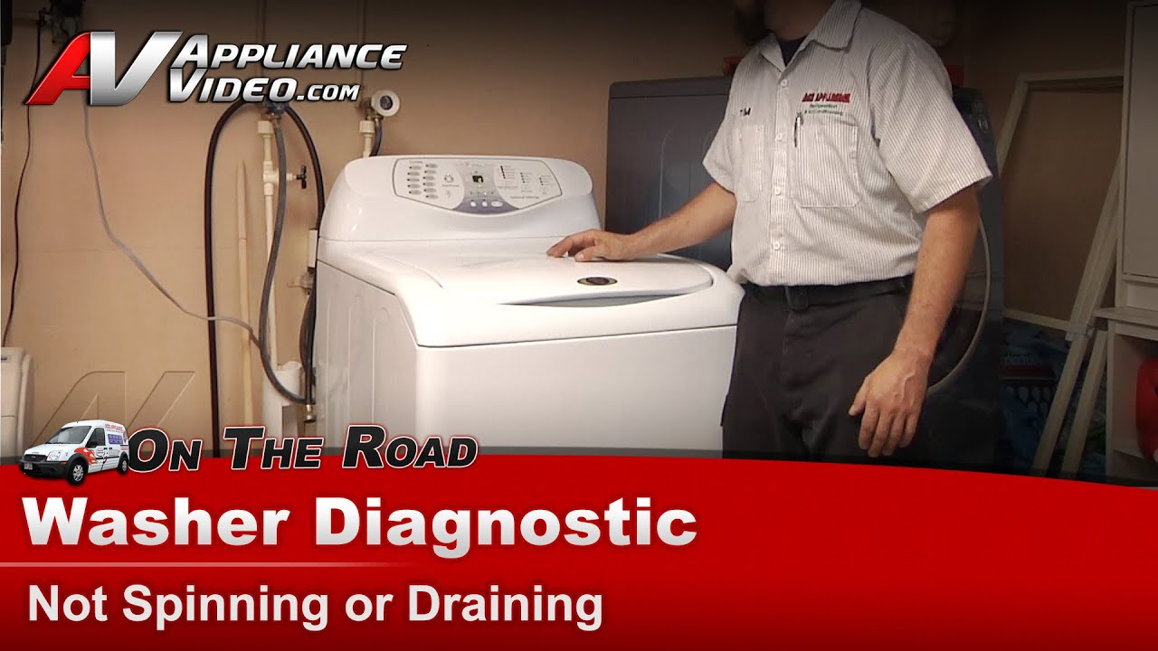 Washer Not Spinning or Draining-Repair & Diagnostic ...