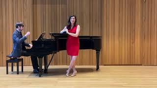 """Angela De Venuto sings """"Chi'l bel sogno di Doretta"""" from Puccini's La Rondine"""