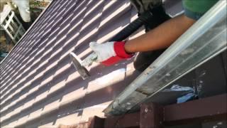 2014-09-16 Меняем лестницу на крыше