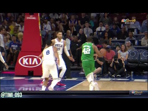 Al Horford FULL 2017 Preseason Highlights