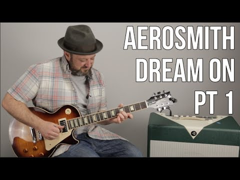 "How to Play ""Dream On"" by Aerosmith on Guitar - Guitar Lesson Part 1"