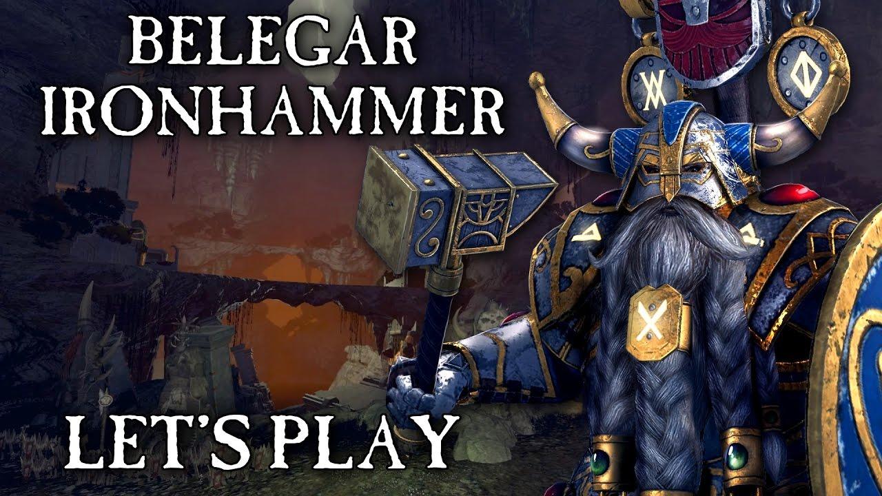 Beautiful Total War: WARHAMMER - Belegar Ironhammer Quest Battle Let's Play  CU68