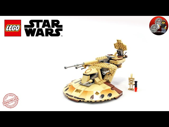 Der Originale AAT Lego® Star Wars Trade Federation AAT 7155