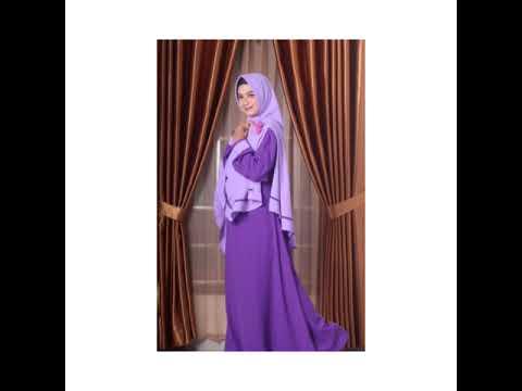 Gamis Ungu Cocok Dengan Jilbab Warna Apa Youtube