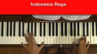Indonesia Raya Anthem Piano Tutorial at Tempo