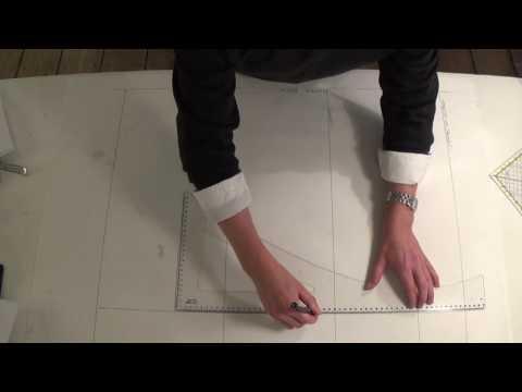 2. Make A Men's Basic Sloper - My Tailoring Academy - by Sten Martin