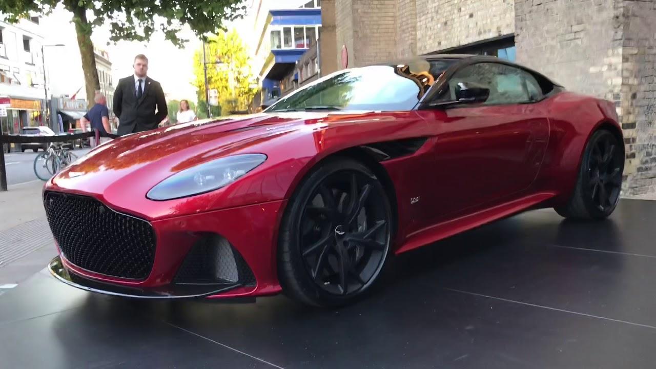 Preview Aston Martin Dbs Superleggera 2019 Autovisie Vlog Youtube