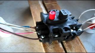 Як підключити кнопку пуску трифазного двигуна