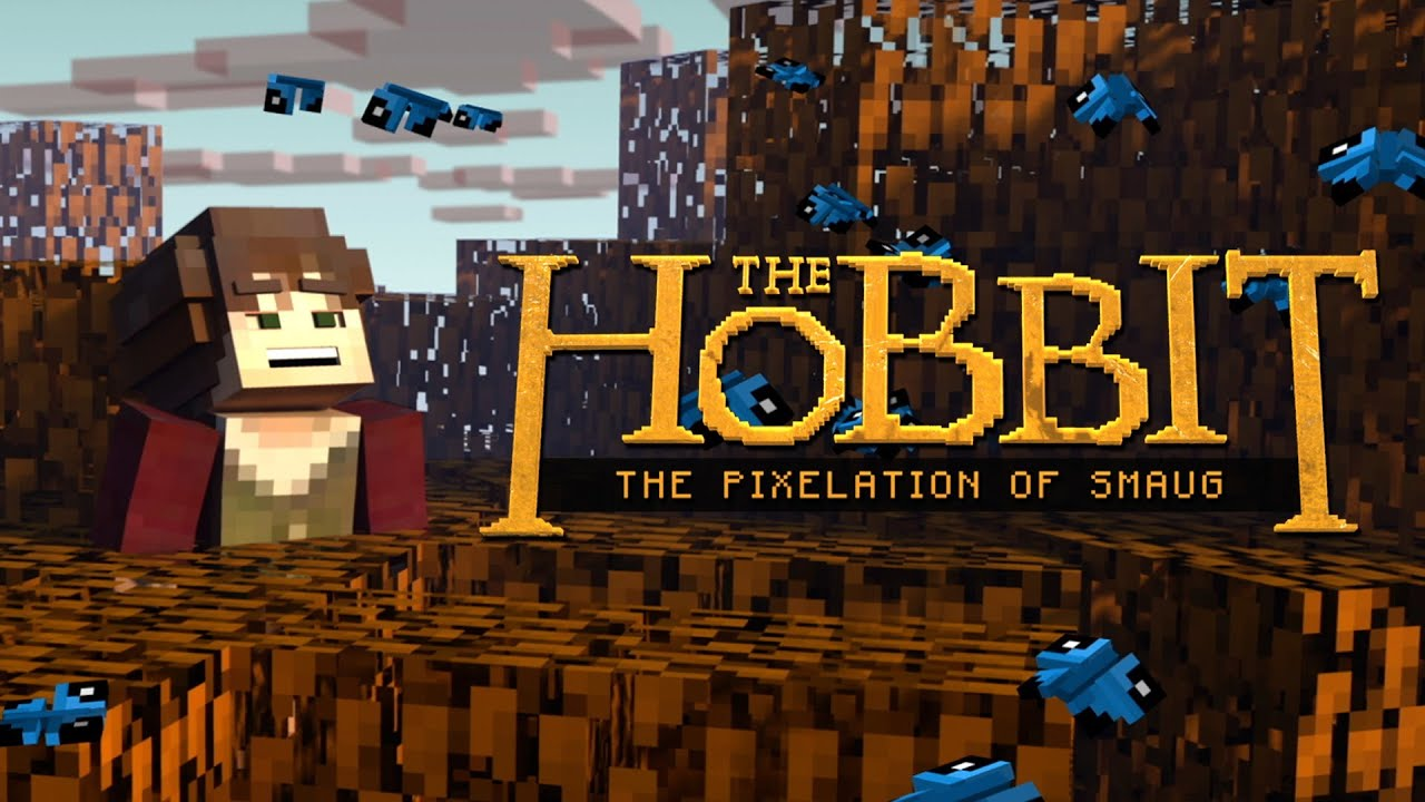 The Hobbit The Pixelation of Smaug A Minecrafted Homage To The