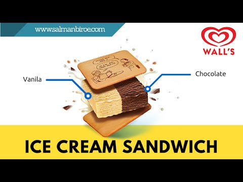 Ice Cream Sandwich Wall's #CoolBanget | #SweetChubby
