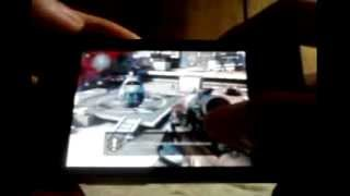 Game on LG Optimus L3: Modern Combat 3 (MC3) (QVGA)