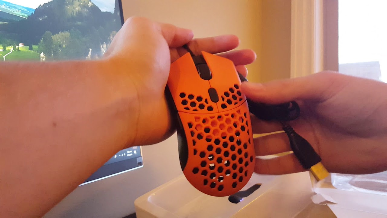 FinalMouse Ultralight Sunset Unboxing