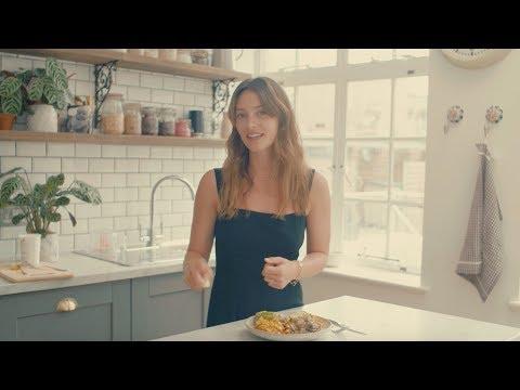 Deliciously Ella Brunch  Creamy Herbed Mushrooms and Spiced Tofu  Vegan