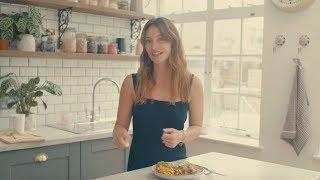 Deliciously Ella Brunch | Creamy Herbed Mushrooms and Spiced Tofu | Vegan