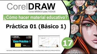 17 Práctica 01 (Básico 1) - CorelDRAW Curso Básico